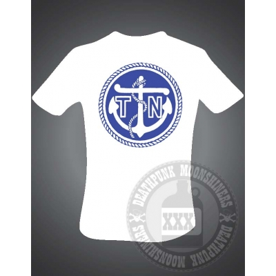 Turbonegro 'Navy Anchor' T shirt