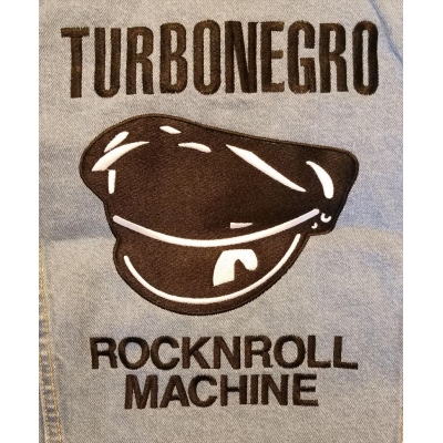 "Turbonegro ""ROCKNROLL MACHINE"" jacket"
