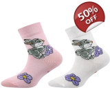 VoXX Girls Rabbit Socks 2 x Pairs