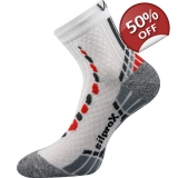 VoXX Synergy Running Socks - White/Grey