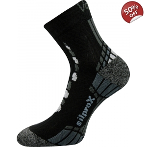 VoXX Synergy Running Socks - Black