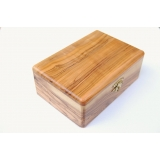 Olive Wood Rosary Box from the Holy Land