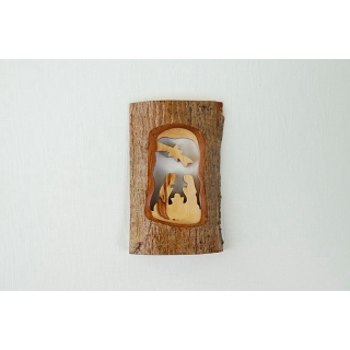 Olive Wood Nativity Car..