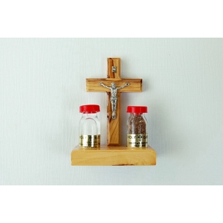 Olive Wood Crucifix wit..