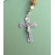 Wood Opal - Sterling Silver Rosary