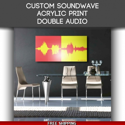 Acrylic Double Audio So..