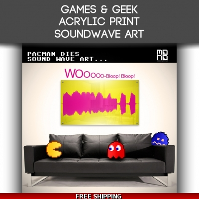 Acrylic Geek Sound Wave..