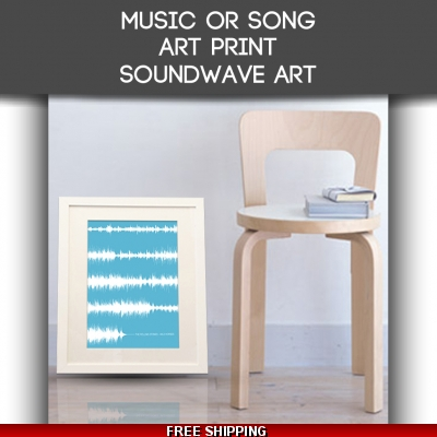 Song Art Print Sound Wa..