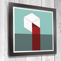boxes art prints