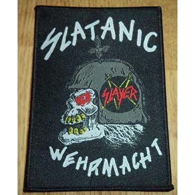 "SLAYER ""Slatanic Wehrmacht"" PATCH"