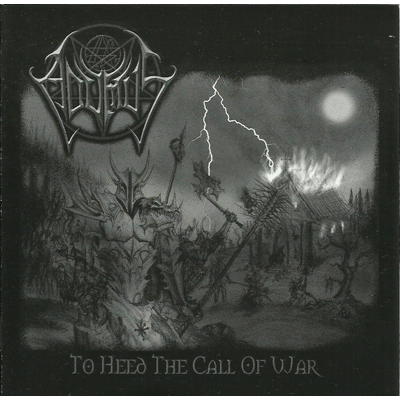 "ADUMUS ""To heed the call of war"" CD"