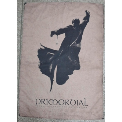 "PRIMORDIAL ""Where greater men have fallen"" FLAG"