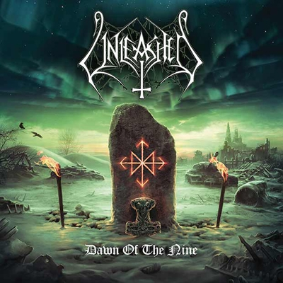 "UNLEASHED ""Dawn of the nine"" CD"