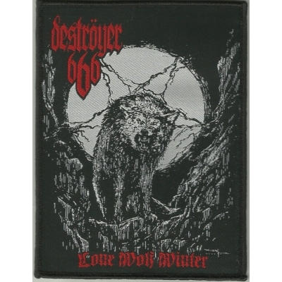 "DESTRÖYER 666 ""Lone wolf winter"" PATCH"