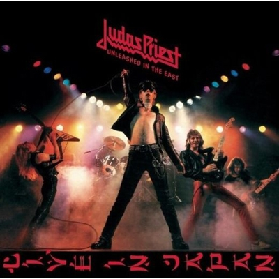 "JUDAS PRIEST ""Unleashed in the east"" CD"