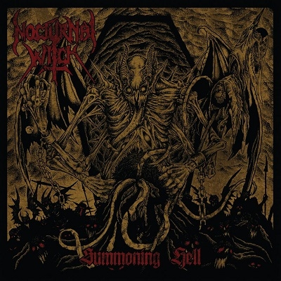 "NOCTURNAL WITCH ""Summoning Hell"" CD"
