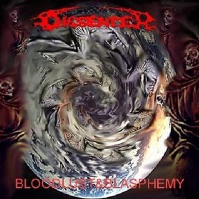 "DISSENTER ""Bloodlust & Blasphemy"" CD"