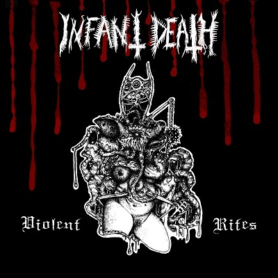 "INFANT DEATH ""Violent Rites"" LP tri-colour vinyl"