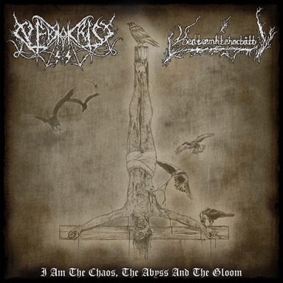 "VÖEDTÆMHTEHACTÅTT/ NEKROKRIST SS ""I Am The Chaos, The Abyss And The Gloom"" SPLIT LP"
