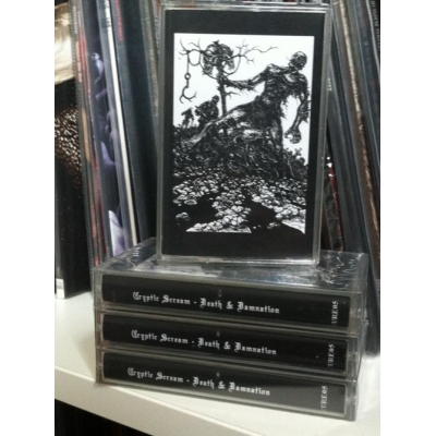 "CRYPTIC SCREAM ""Death & Damnation"" TAPE"