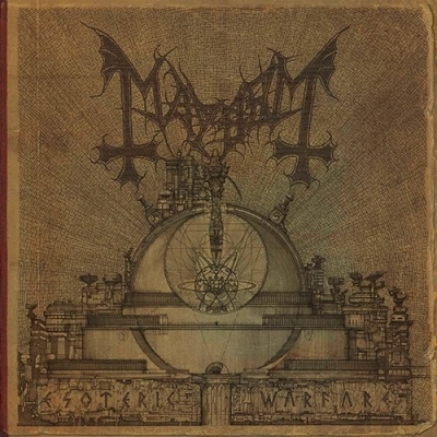 "MAYHEM ""Esoteric warfare"" CD"