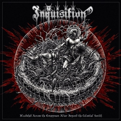 "INQUISITION -""Bloodshed Across The Empyrean Altar Beyond The Celestial Zenith"" DOUBLE LP"