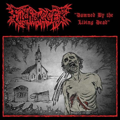 "FILTHDIGGER ""Damned by the living dead"" LP"