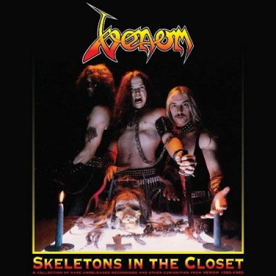 "VENOM ""Skeletons in the closet"" DOUBLE LP Black vinyl"