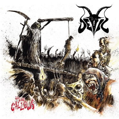 "DEVIL ""To the gallows"" LP"