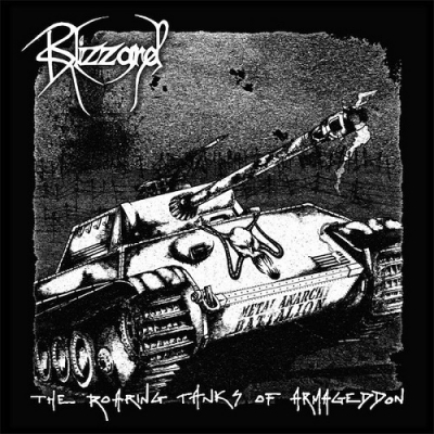 "BLIZZARD ""The roaring tanks of armageddon"" CD"