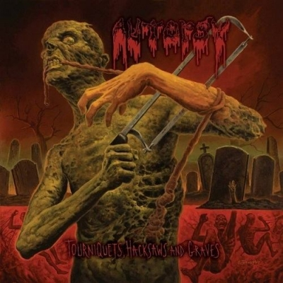 "AUTOPSY ""Tourniquets, Hacksaws and Graves"" CD"