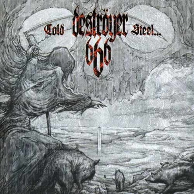 "DESTROYER 666 ""Cold Steel...For An Iron Age"" CD"