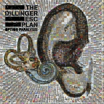 "THE DILLINGER ESCAPE PLAN ""Option Paralysis"" CD"