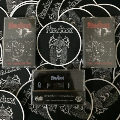"MERCILESS ""The Awakening"" TAPE + PATCH"