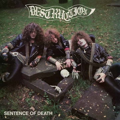 "DESTRUCTION ""Sentence of Death"" 12'' MLP US COVER"