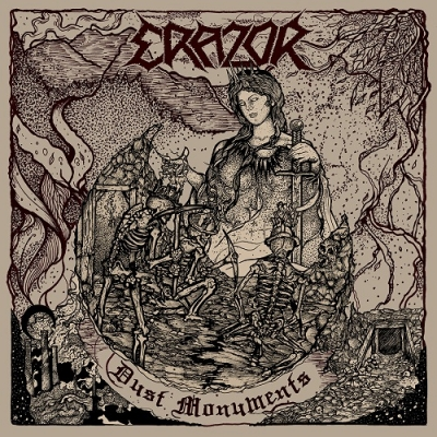 "ERAZOR ""Dust Monuments"" CD"
