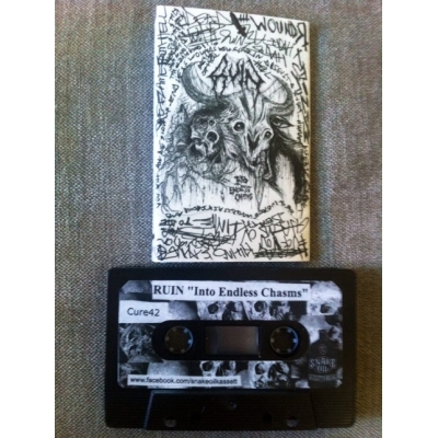 "RUIN ""Into endless chasms"" TAPE"