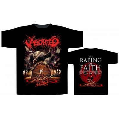 ABORTED 'Bathos' T-Shirt