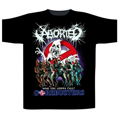 Aborted 'Gorebusters' T-Shirt