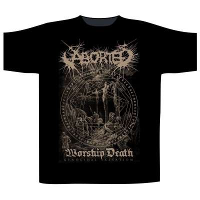 Aborted 'Worship Death' T-Shirt