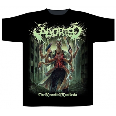 Aborted 'The Necrotic Manifesto' T-Shirt
