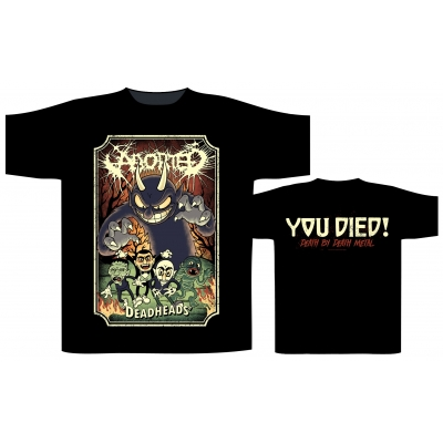 Aborted 'Deadheads' T-Shirt