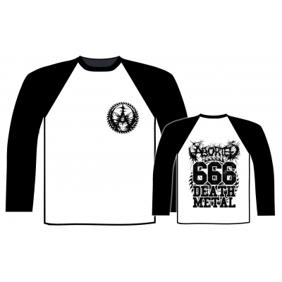 Aborted '666 Death Metal' Baseball Shirt