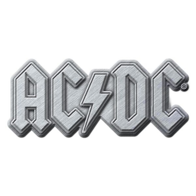 AC/DC 'Metal Logo' Metal Pin Badge