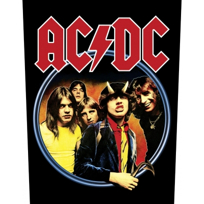 AC/DC 'Highway To Hell' Backpatch