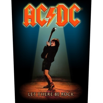 AC/DC 'Let There Be Rock' Backpatch