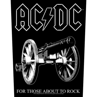 AC/DC 'For Those About To Rock' Backpatch