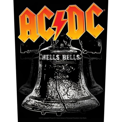 AC/DC 'Hells Bells' Backpatch