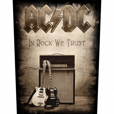 AC/DC 'In Rock We Trust' Backpatch