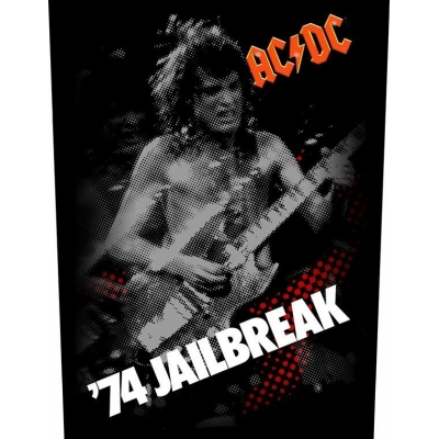 AC/DC '74 Jailbreak' Backpatch